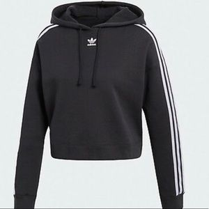 Adidas Cropped Hoodie (selling matching pants)